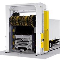 Портальная мойка для грузовых авто
